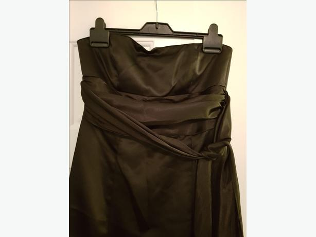 Ladies black ballgown - size 10