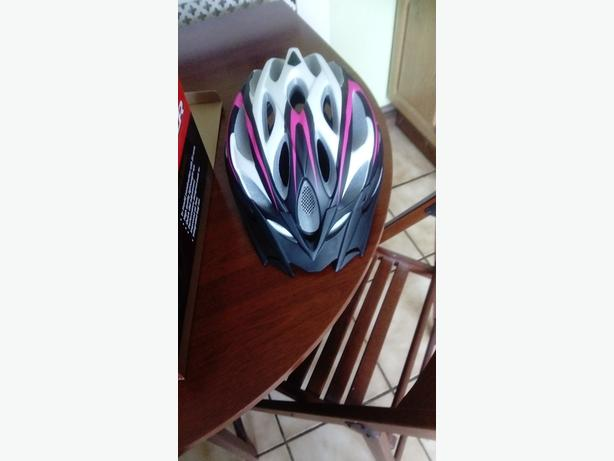 Ladies bicycle helmet
