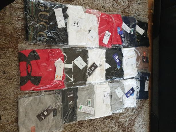 47 x brand new 3 to 4 and 5 to 6 years t shirts job lot