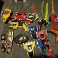 joblot power ranger toys