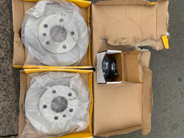 vauxhall discs and pads