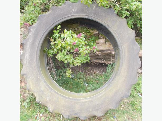 Large Tractor Tyre Ideal Fitness Training or Planter