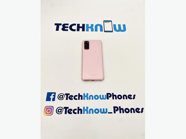 Samsung S20 5G 128GB unlocked Cloud Pink £379.99
