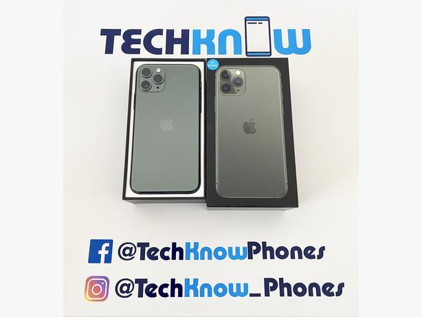 Apple iPhone 11 Pro 64GB unlocked Green Boxed £499.99