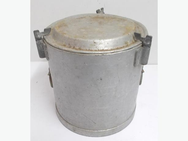 Vintage Aluminium Food Flask
