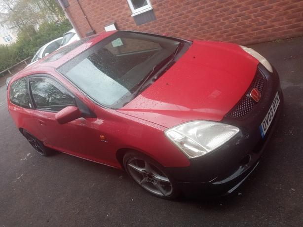 automatic Honda civic type r rep unfinished project