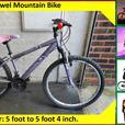 Apollo Jewel Mountain Bike. 18 speed. 26 inch Wheels.