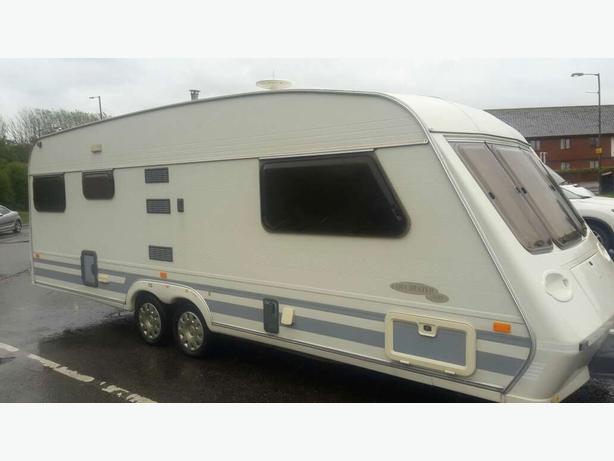 Fleetwood diadem twin axle caravan