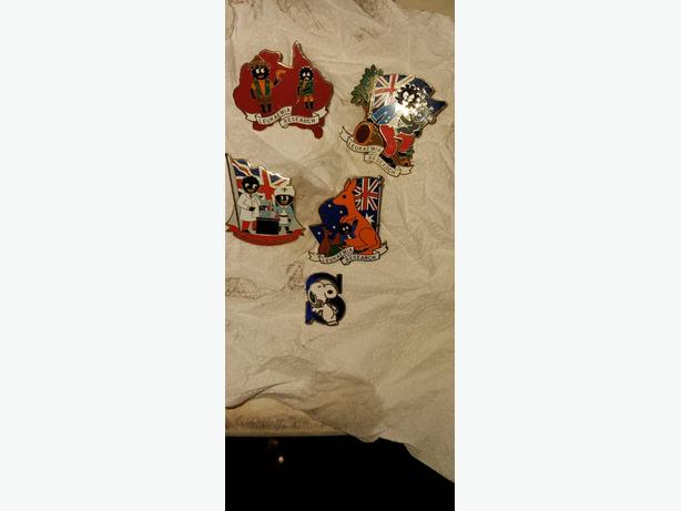 gollywog collectable brooches