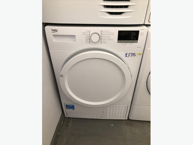 🇬🇧🇬🇧 GRADED BEKO 8KG CONDENSER DRYER- WITH GUARANTEE- PLANET 🌎 APPLIANCE 🇬🇧🇬🇧