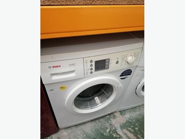 Bosch 6 kg washing machine with warranty at Recyk Appliances