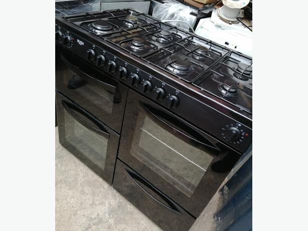 Bush 100cm Duel Fuel range gas cooker with warranty at Recyk