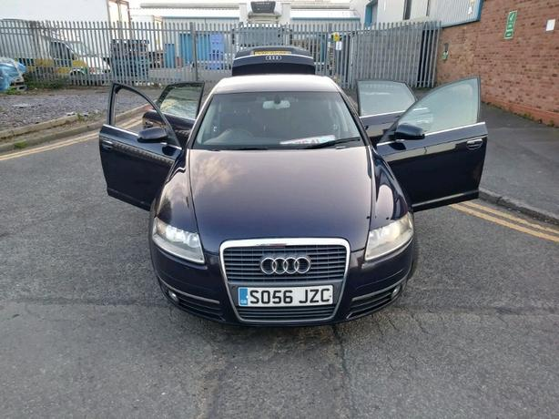 part ex to clear Audi A6 2.0 TDI 56 plate