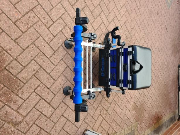 fishing seat box and attachments