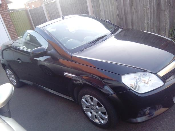 An affordable Sports convertible with new mot.
