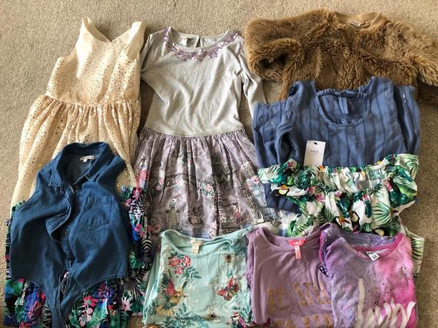 Girls clothes age 8-10
