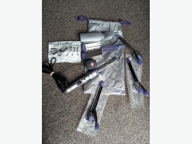revlon 7 day multi styler hair straightener curler