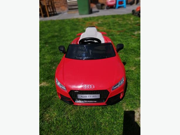 Audi electric ride on car