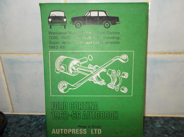 Ford cortina 1962-66 autobook