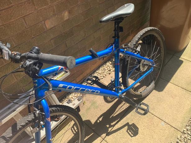 Carrera bicycle