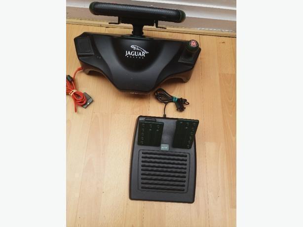 Ps2 jaguar racing wheel 4gamers spc888 4Gamers Green/Black