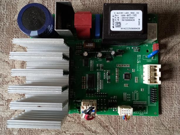 2841610501 rev:g06-b07-t02 beko washing machine control module pcb,used