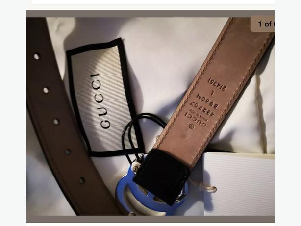 genuine kids gucci belt