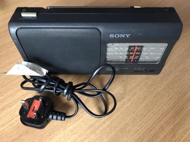 sony fm/am 3 band receiver icf-7800l radio