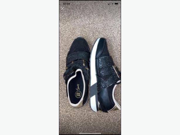 river island trainers size 7 worn twice
