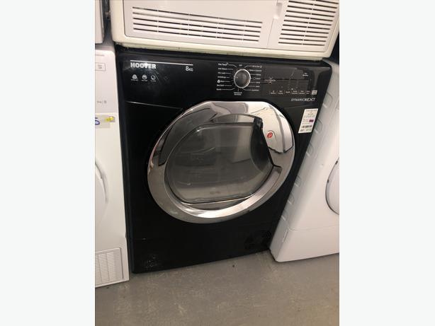 ♻️♻️ BLACK HOOVER 8KG CONDENSER DRYER- WITH GUARANTEE- PLANET APPLIANCE ♻️♻️