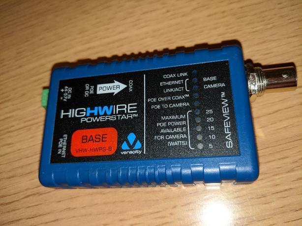 Veracity HIGHWIRE Powerstar base unit