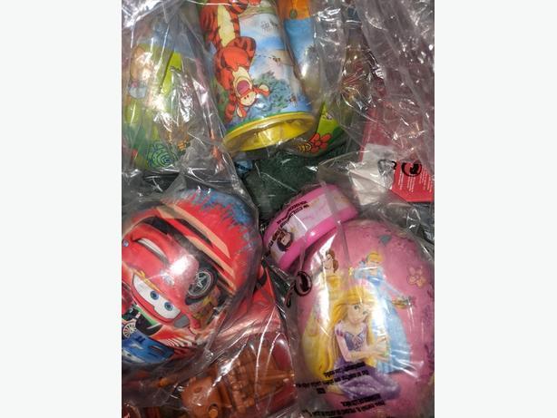 NEW Big egg toy. Rapunzel, Cars, Winnie the Pooh