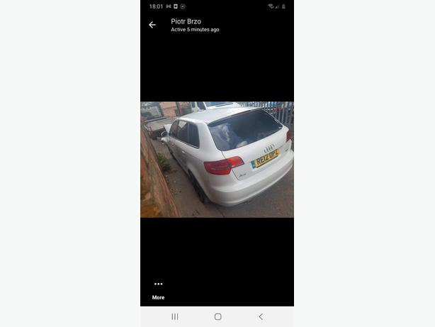 audi a3 tdi for parts onle