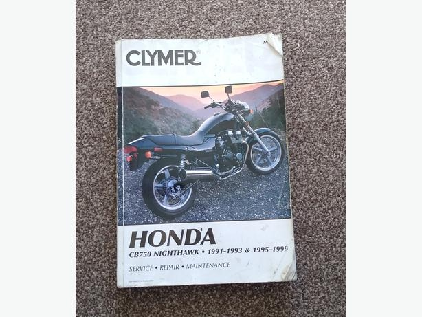 Honda CB750 Nighthawk Clymer Owners Manual.