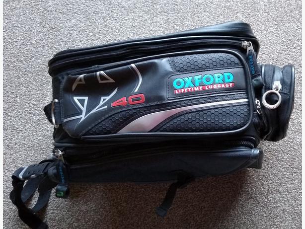 Oxford Motorbike Expanding Tank Bag.