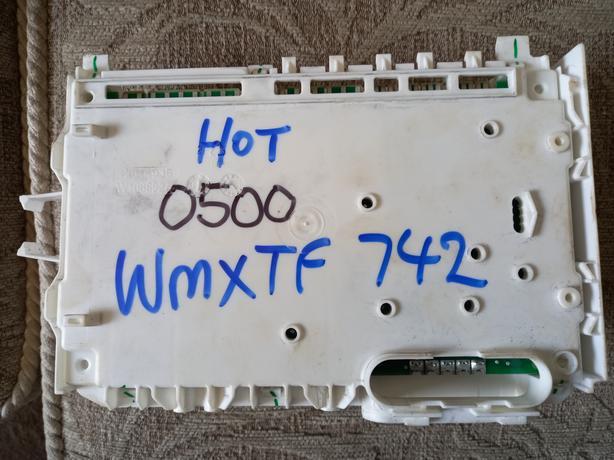 21501380500 hotpoint wmxtf 742 washing machine control module,used fully tested