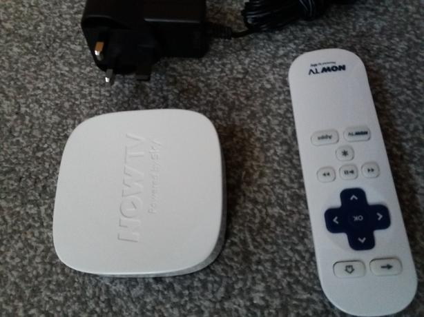 Now Tv Box and Remote Control