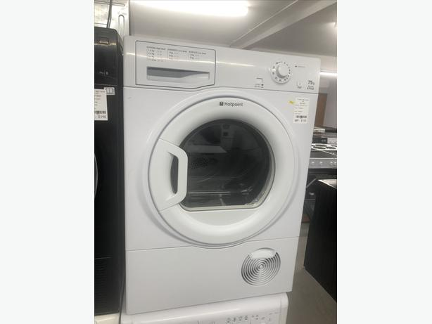🟩🟩 HOTPOINT 7.5KG CONDENSER DRYER - WITH GUARANTEE- PLANET 🌎 APPLIANCE 🟩🟩