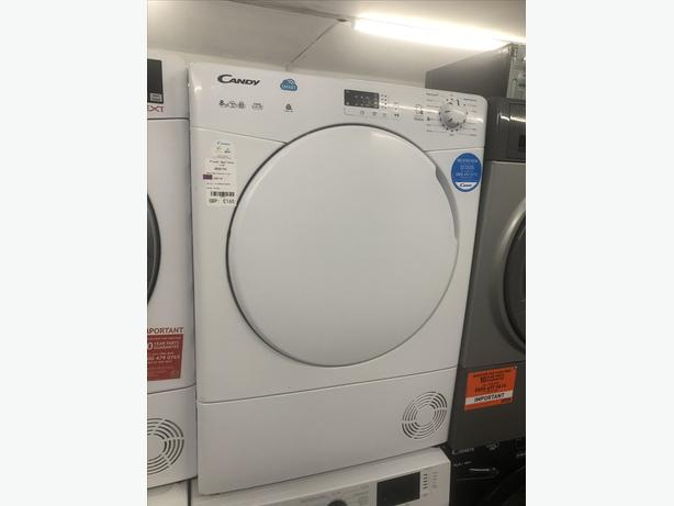 🟩🟩 CANDY 8KG CONDENSER DRYER- WITH GUARANTEE- PLANET 🌎 APPLIANCE 🟩🟩