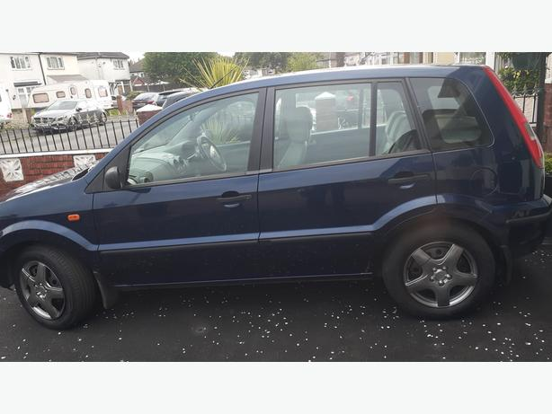 ford fusion  2 1.4 mot low miles new clutch fitted last week