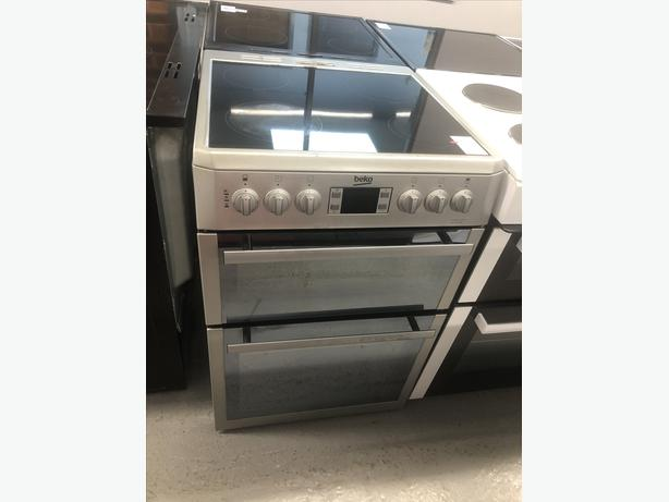 🟩🟩 BEKO 60CM ELECTRIC COOKER - WITH GUARANTEE- PLANET 🌎 APPLIANCE 🟩🟩