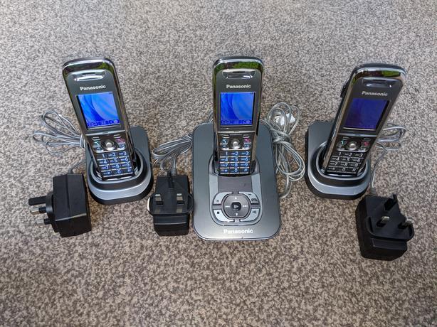 Panasonic KX-TG8421E Digital Cordless Phone