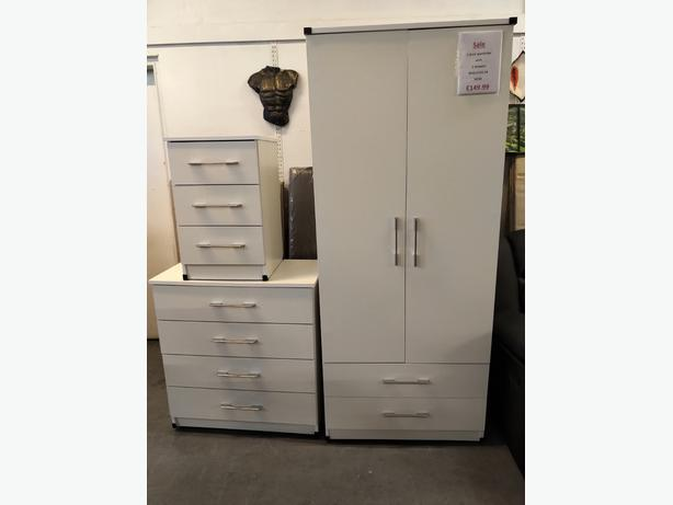 Factory assembled wardrobes at low prices at Capricorn Interiors