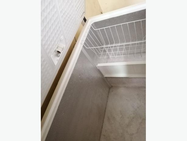 Whirlpool chest freezer white with warranty at Recyk Appliances