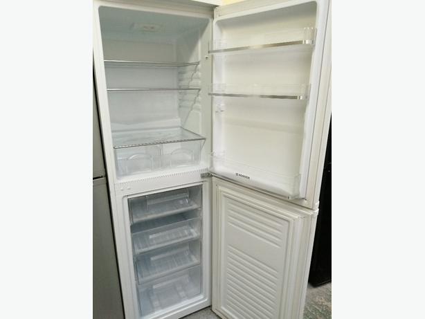 Hoover fridge freezer with warranty at Recyk Appliances