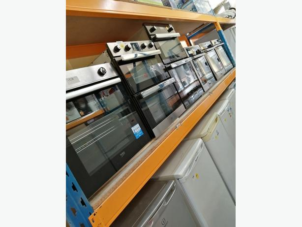 LOTS OF BUILT IN GAS AND ELECTRIC OVENS IN STOCK WITH 3 MONTHS WARRANTY