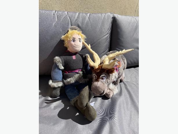 Frozen - Sven & Kristoff soft toys