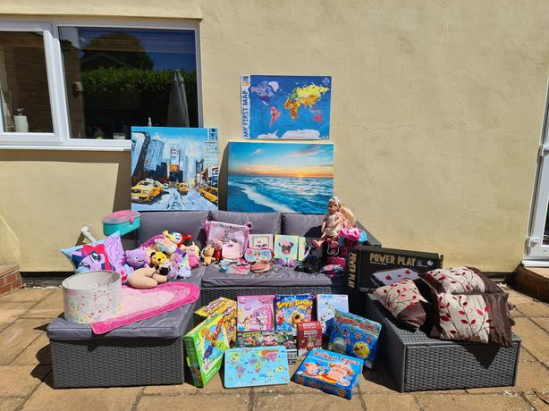 Job Lot of Childrens Toys, Furnishing and other Items