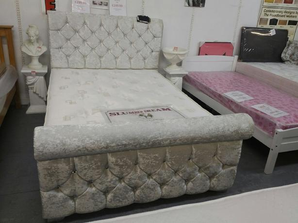 Clearance sale on beds now on