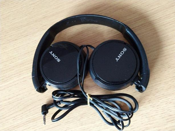 Sony on ear headphones black